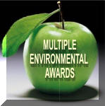 A GREEN company. Multiple environmental awards.