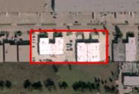 Our 4 buildings taken by satellite