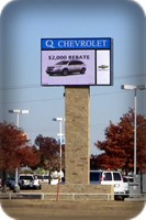 Digital Message Outdoor Signage