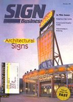 Our signs on a magazine cover